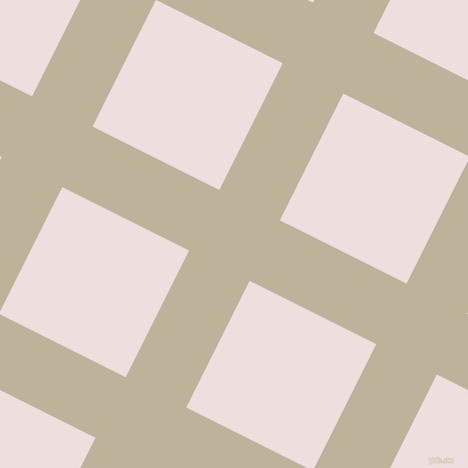63/153 degree angle diagonal checkered chequered lines, 99 pixel line width, 207 pixel square size, Akaroa and Soft Peach plaid checkered seamless tileable