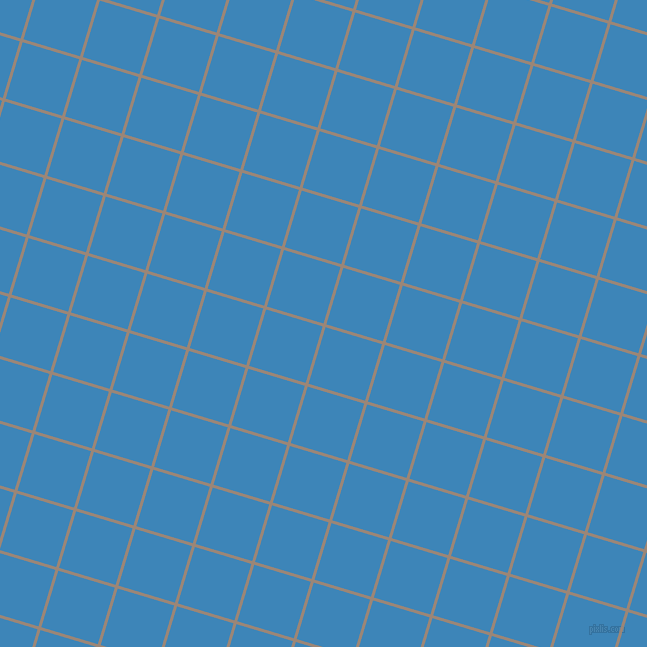 73/163 degree angle diagonal checkered chequered lines, 3 pixel lines width, 59 pixel square size, Almond Frost and Curious Blue plaid checkered seamless tileable