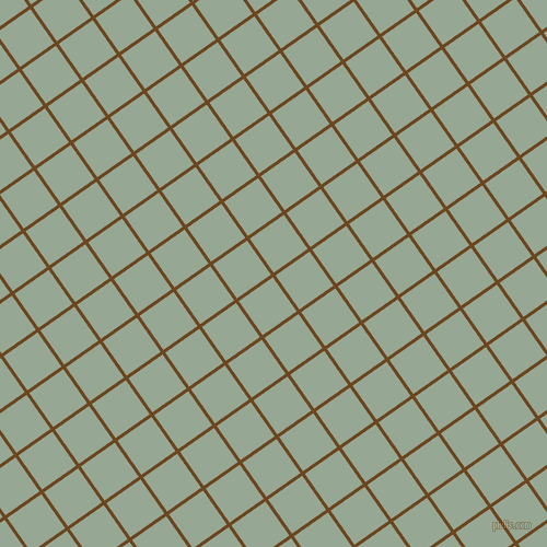 35/125 degree angle diagonal checkered chequered lines, 3 pixel line width, 38 pixel square size, Antique Brass and Mantle plaid checkered seamless tileable