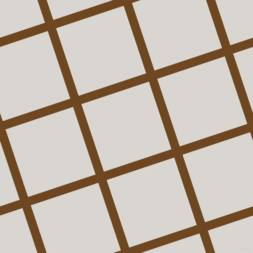 18/108 degree angle diagonal checkered chequered lines, 30 pixel line width, 245 pixel square size, Antique Brass and Timberwolf plaid checkered seamless tileable
