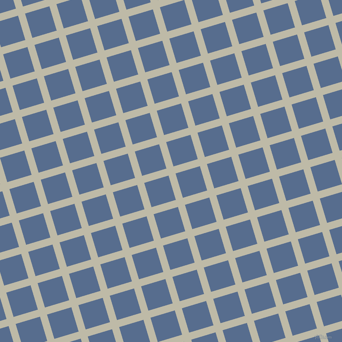 17/107 degree angle diagonal checkered chequered lines, 15 pixel lines width, 52 pixel square size, Ash and Kashmir Blue plaid checkered seamless tileable