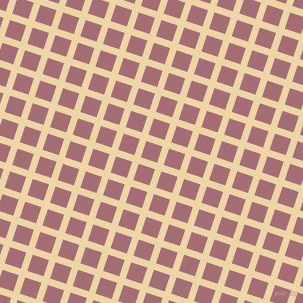 72/162 degree angle diagonal checkered chequered lines, 10 pixel lines width, 25 pixel square size, Astra and Turkish Rose plaid checkered seamless tileable