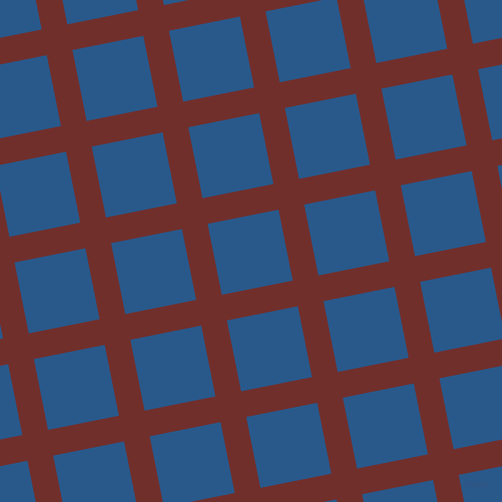 11/101 degree angle diagonal checkered chequered lines, 38 pixel line width, 105 pixel square size, Auburn and Endeavour plaid checkered seamless tileable