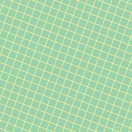 69/159 degree angle diagonal checkered chequered lines, 2 pixel line width, 23 pixel square size, Australian Mint and Chinook plaid checkered seamless tileable
