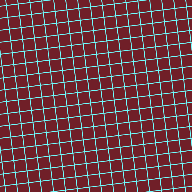 7/97 degree angle diagonal checkered chequered lines, 3 pixel lines width, 38 pixel square size, Baby Blue and Red Berry plaid checkered seamless tileable