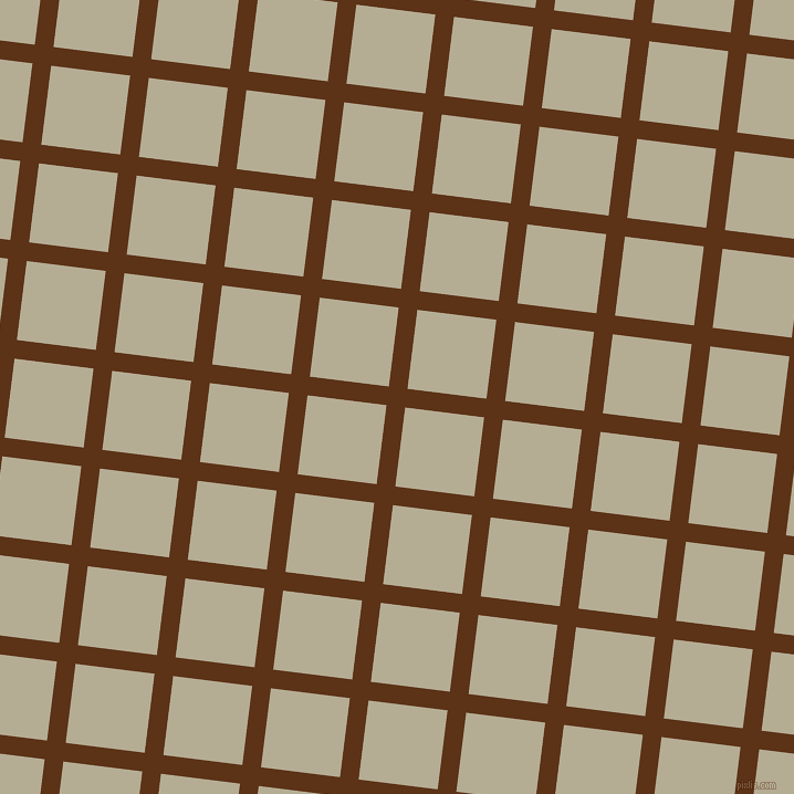 83/173 degree angle diagonal checkered chequered lines, 17 pixel lines width, 72 pixel square size, Baker