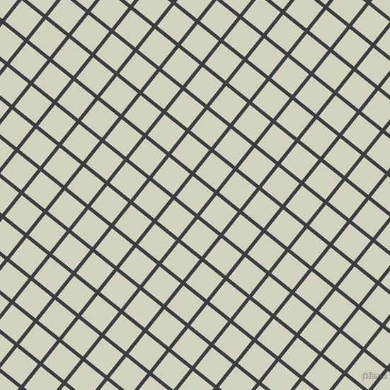 51/141 degree angle diagonal checkered chequered lines, 5 pixel line width, 38 pixel square size, Baltic Sea and Celeste plaid checkered seamless tileable