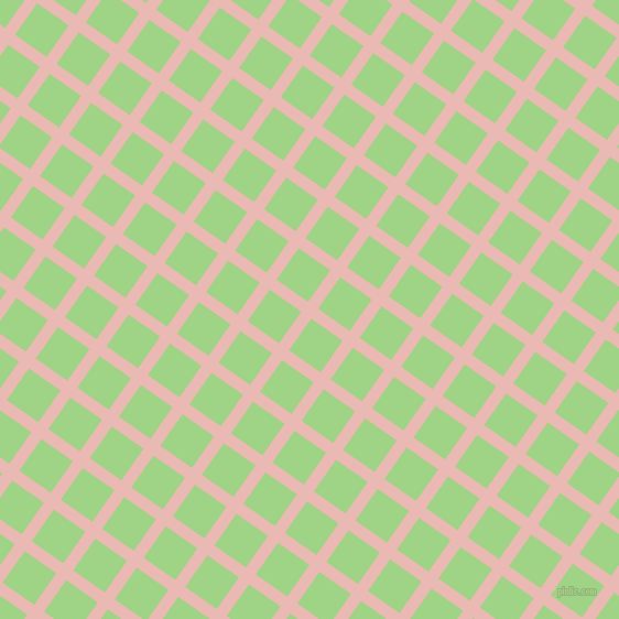55/145 degree angle diagonal checkered chequered lines, 11 pixel lines width, 35 pixel square size, Beauty Bush and Gossip plaid checkered seamless tileable