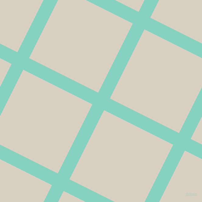 63/153 degree angle diagonal checkered chequered lines, 43 pixel line width, 254 pixel square size, Bermuda and Blanc plaid checkered seamless tileable