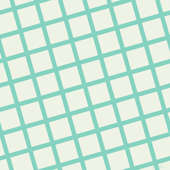 16/106 degree angle diagonal checkered chequered lines, 14 pixel lines width, 61 pixel square size, Bermuda and Saltpan plaid checkered seamless tileable