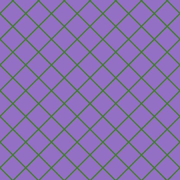 45/135 degree angle diagonal checkered chequered lines, 4 pixel line width, 55 pixel square size, Bilbao and Lilac Bush plaid checkered seamless tileable