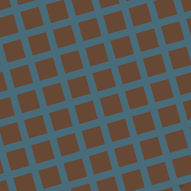 16/106 degree angle diagonal checkered chequered lines, 24 pixel line width, 63 pixel square size, Bismark and Jambalaya plaid checkered seamless tileable
