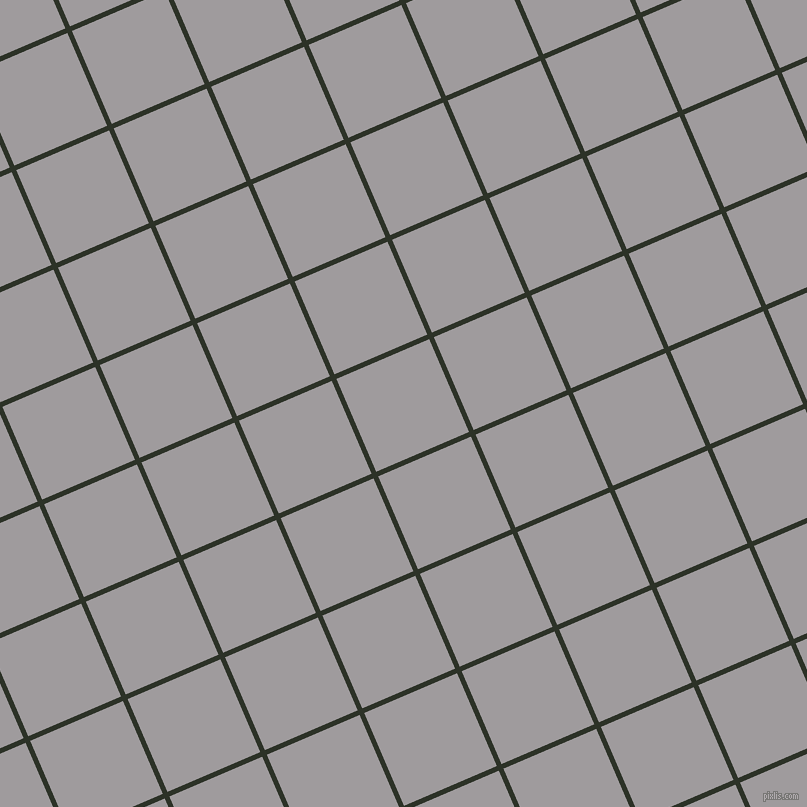 23/113 degree angle diagonal checkered chequered lines, 5 pixel line width, 101 pixel square size, Black Forest and Shady Lady plaid checkered seamless tileable