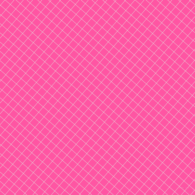 49/139 degree angle diagonal checkered chequered lines, 1 pixel lines width, 23 pixel square size, Black White and Brilliant Rose plaid checkered seamless tileable
