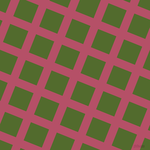 68/158 degree angle diagonal checkered chequered lines, 28 pixel lines width, 66 pixel square size, Blush and Green Leaf plaid checkered seamless tileable