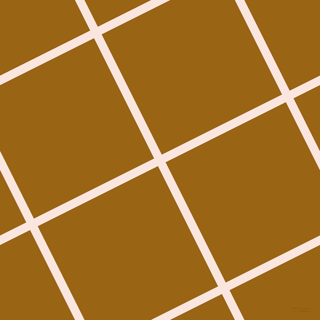27/117 degree angle diagonal checkered chequered lines, 17 pixel line width, 269 pixel square size, Bridesmaid and Golden Brown plaid checkered seamless tileable