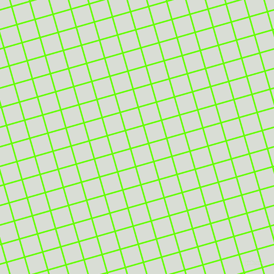 16/106 degree angle diagonal checkered chequered lines, 3 pixel line width, 34 pixel square size, Bright Green and Aqua Haze plaid checkered seamless tileable