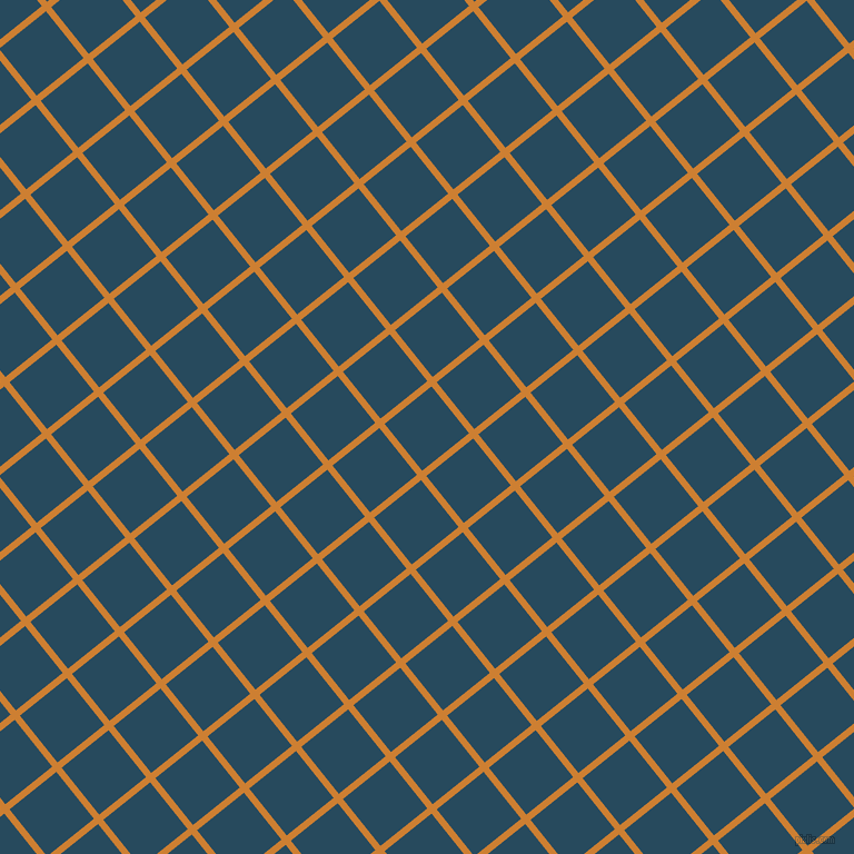 39/129 degree angle diagonal checkered chequered lines, 6 pixel lines width, 54 pixel square size, Bronze and Arapawa plaid checkered seamless tileable