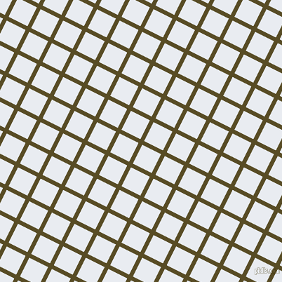 63/153 degree angle diagonal checkered chequered lines, 6 pixel line width, 30 pixel square size, Bronze Olive and Solitude plaid checkered seamless tileable