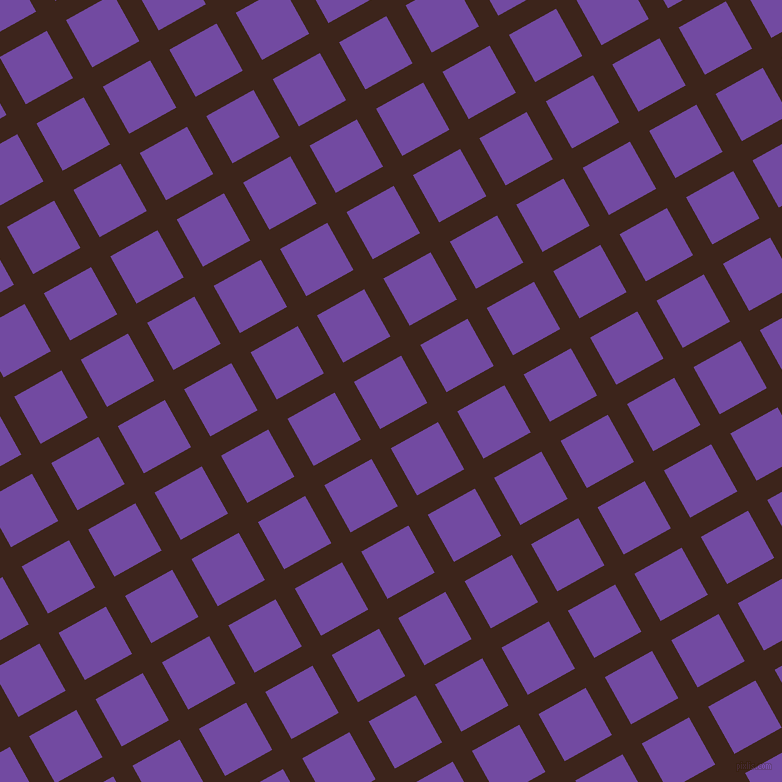 29/119 degree angle diagonal checkered chequered lines, 22 pixel lines width, 54 pixel square size, Brown Pod and Studio plaid checkered seamless tileable