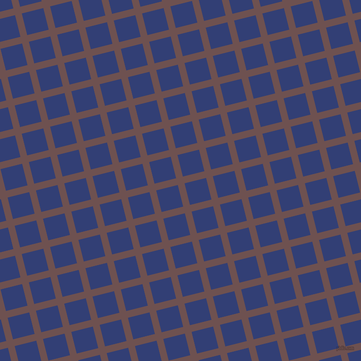 14/104 degree angle diagonal checkered chequered lines, 14 pixel line width, 45 pixel square size, Buccaneer and Resolution Blue plaid checkered seamless tileable