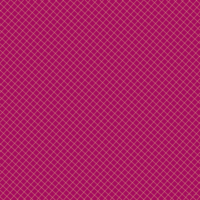 48/138 degree angle diagonal checkered chequered lines, 1 pixel lines width, 15 pixel square size, Burly Wood and Jazzberry Jam plaid checkered seamless tileable