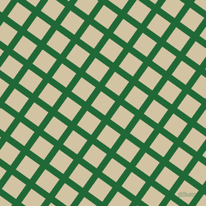 54/144 degree angle diagonal checkered chequered lines, 13 pixel line width, 35 pixel square size, Camarone and Double Spanish White plaid checkered seamless tileable