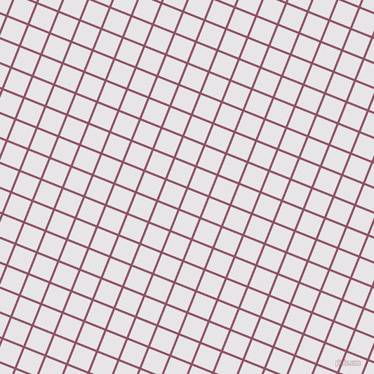68/158 degree angle diagonal checkered chequered lines, 3 pixel lines width, 30 pixel square size, Cannon Pink and White Lilac plaid checkered seamless tileable