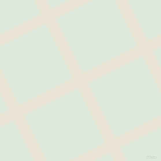 27/117 degree angle diagonal checkered chequered lines, 39 pixel line width, 210 pixel square size, Cararra and Apple Green plaid checkered seamless tileable