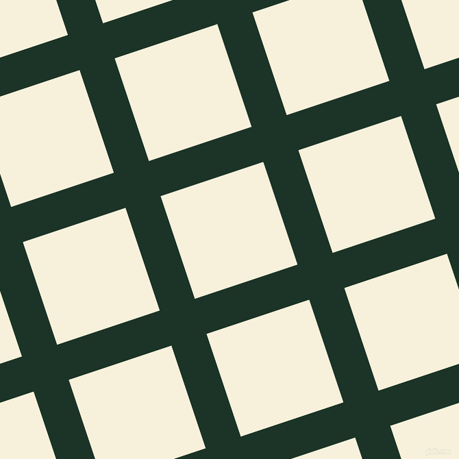 18/108 degree angle diagonal checkered chequered lines, 54 pixel line width, 158 pixel square size, Cardin Green and Apricot White plaid checkered seamless tileable