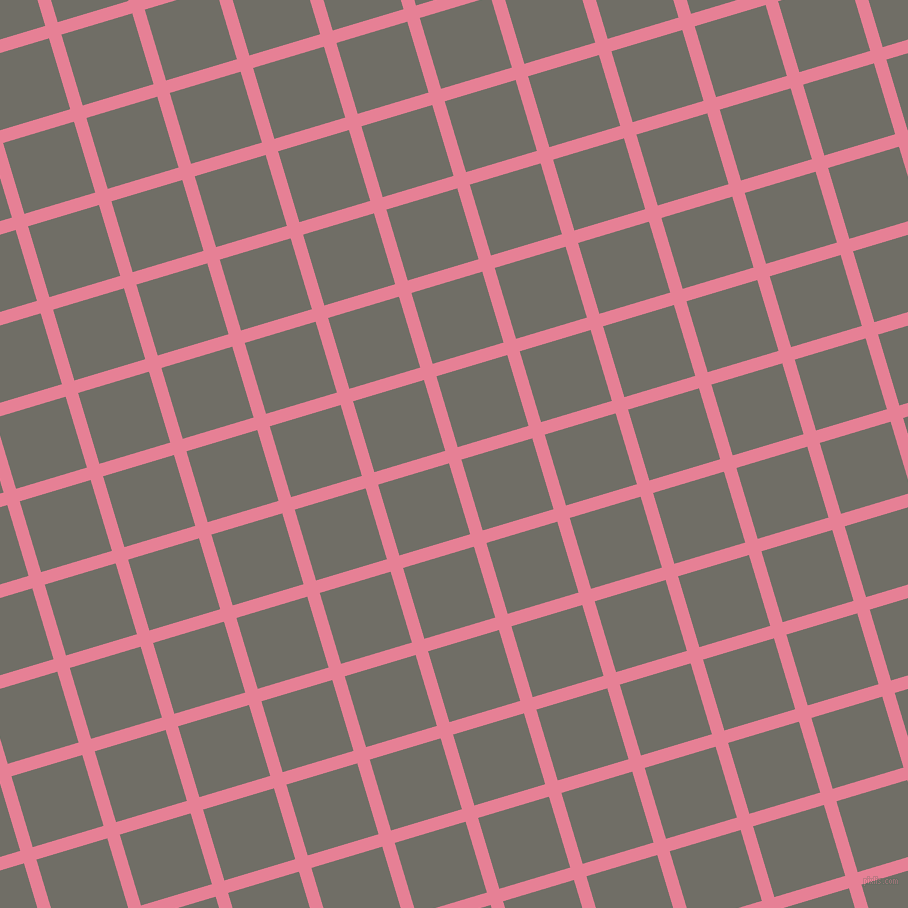 17/107 degree angle diagonal checkered chequered lines, 13 pixel line width, 74 pixel square size, Carissma and Ironside Grey plaid checkered seamless tileable