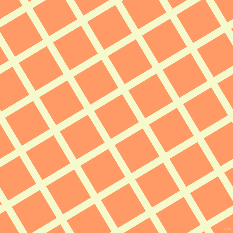 31/121 degree angle diagonal checkered chequered lines, 25 pixel lines width, 112 pixel square size, Carla and Atomic Tangerine plaid checkered seamless tileable
