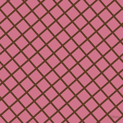 41/131 degree angle diagonal checkered chequered lines, 6 pixel line width, 34 pixel square size, Carnaby Tan and Charm plaid checkered seamless tileable