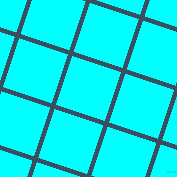 72/162 degree angle diagonal checkered chequered lines, 18 pixel line width, 208 pixel square size, Cello and Aqua plaid checkered seamless tileable