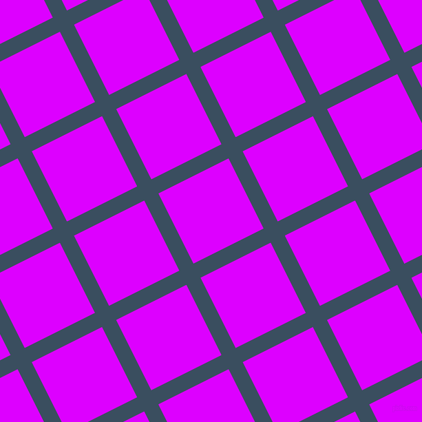 27/117 degree angle diagonal checkered chequered lines, 23 pixel lines width, 114 pixel square size, Cello and Psychedelic Purple plaid checkered seamless tileable