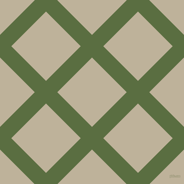 45/135 degree angle diagonal checkered chequered lines, 53 pixel lines width, 163 pixel square size, Chalet Green and Akaroa plaid checkered seamless tileable