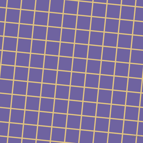 84/174 degree angle diagonal checkered chequered lines, 5 pixel line width, 51 pixel square size, Chalky and Scampi plaid checkered seamless tileable