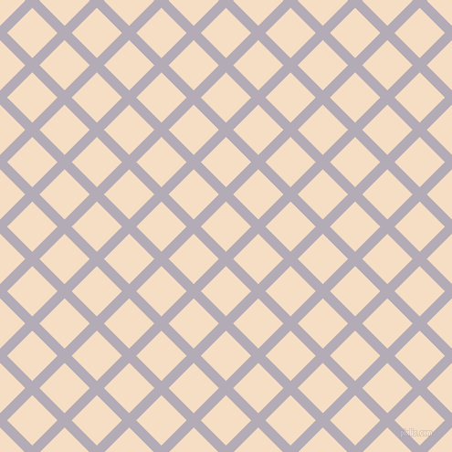45/135 degree angle diagonal checkered chequered lines, 11 pixel lines width, 39 pixel square size, Chatelle and Sazerac plaid checkered seamless tileable