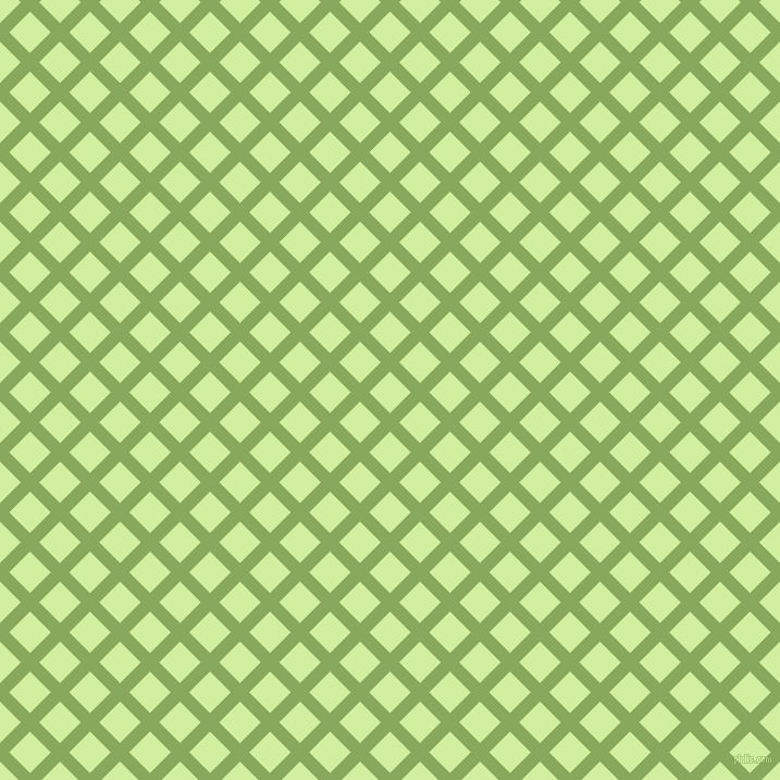 45/135 degree angle diagonal checkered chequered lines, 12 pixel lines width, 27 pixel square size, Chelsea Cucumber and Reef plaid checkered seamless tileable