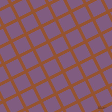 27/117 degree angle diagonal checkered chequered lines, 12 pixel line width, 53 pixel square size, Chelsea Gem and Trendy Pink plaid checkered seamless tileable