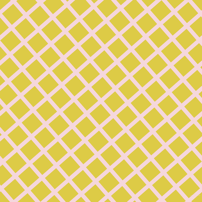 41/131 degree angle diagonal checkered chequered lines, 14 pixel line width, 52 pixel square size, Cherub and Confetti plaid checkered seamless tileable