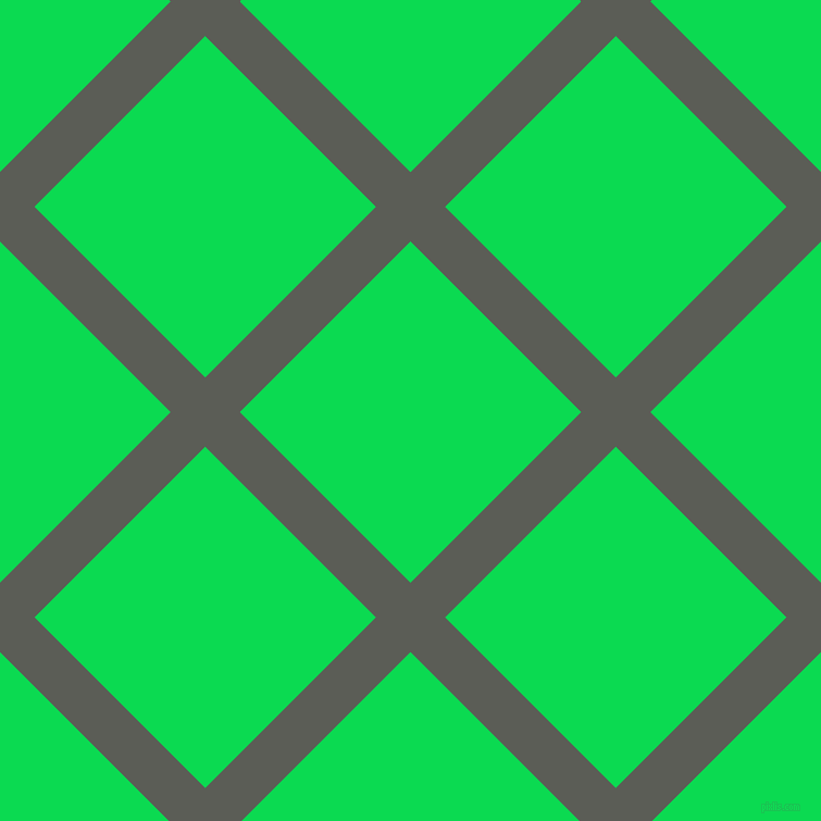 45/135 degree angle diagonal checkered chequered lines, 45 pixel line width, 222 pixel square size, Chicago and Malachite plaid checkered seamless tileable