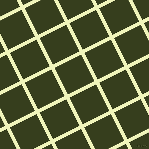 27/117 degree angle diagonal checkered chequered lines, 12 pixel lines width, 100 pixel square size, Chiffon and Turtle Green plaid checkered seamless tileable