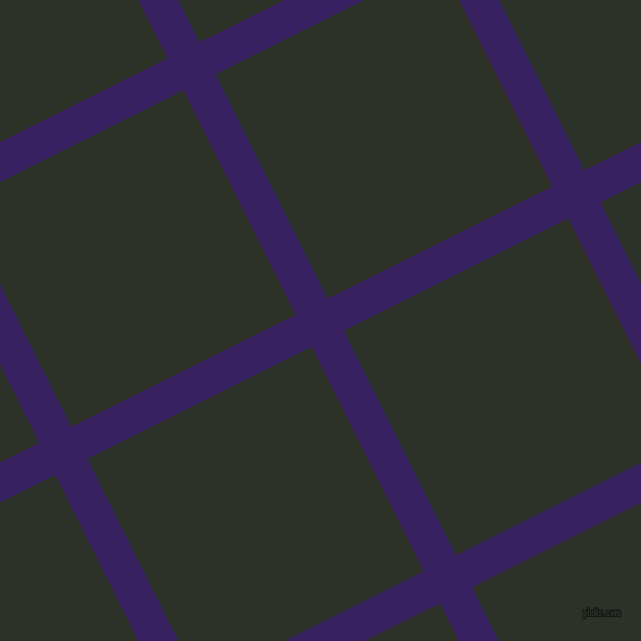 27/117 degree angle diagonal checkered chequered lines, 33 pixel line width, 231 pixel square size, Christalle and Black Forest plaid checkered seamless tileable