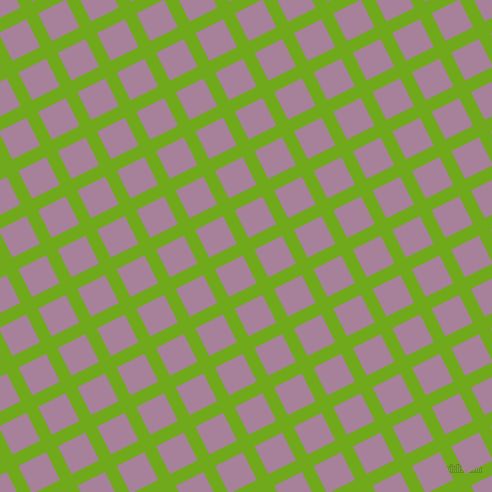 27/117 degree angle diagonal checkered chequered lines, 13 pixel line width, 31 pixel square size, Christi and Bouquet plaid checkered seamless tileable