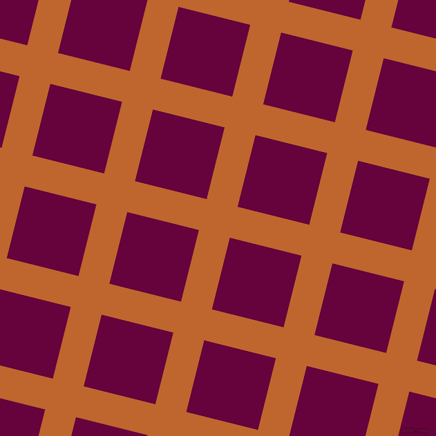 76/166 degree angle diagonal checkered chequered lines, 46 pixel line width, 107 pixel square size, Christine and Tyrian Purple plaid checkered seamless tileable