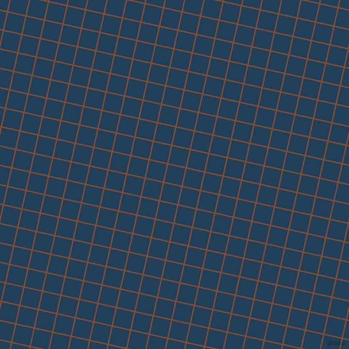 77/167 degree angle diagonal checkered chequered lines, 3 pixel line width, 36 pixel square size, Cigar and Regal Blue plaid checkered seamless tileable