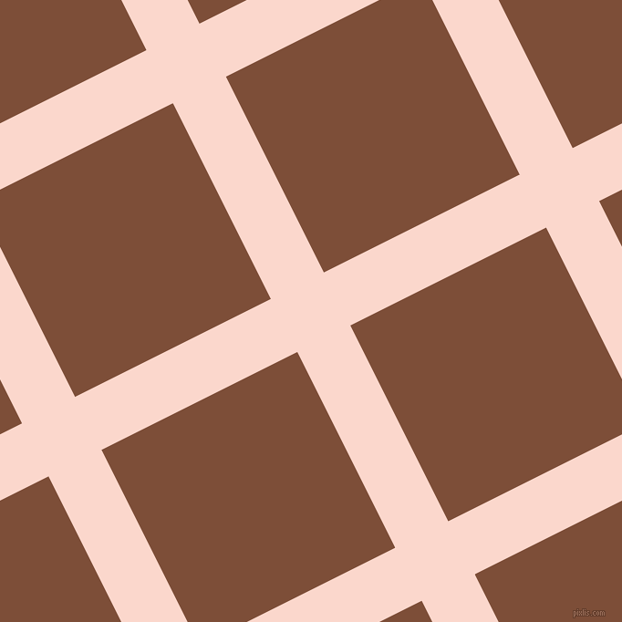 27/117 degree angle diagonal checkered chequered lines, 65 pixel lines width, 240 pixel square size, Cinderella and Cigar plaid checkered seamless tileable