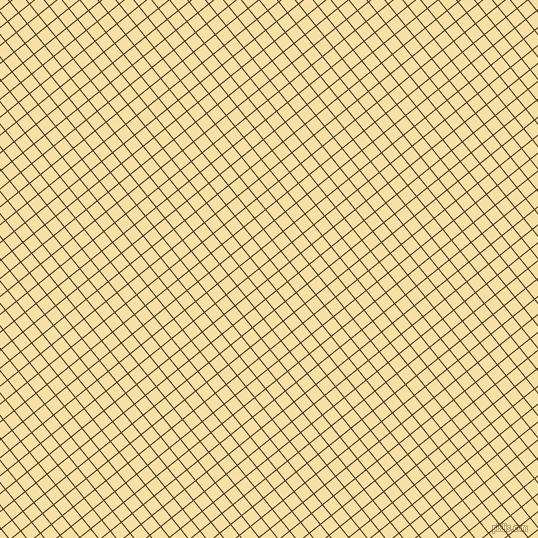 39/129 degree angle diagonal checkered chequered lines, 1 pixel line width, 13 pixel square size, Clinker and Buttermilk plaid checkered seamless tileable