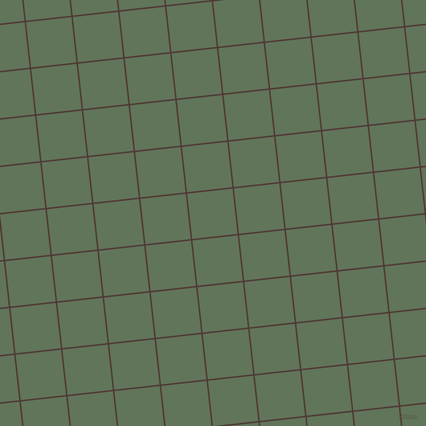 6/96 degree angle diagonal checkered chequered lines, 3 pixel line width, 93 pixel square size, Cocoa Bean and Finlandia plaid checkered seamless tileable